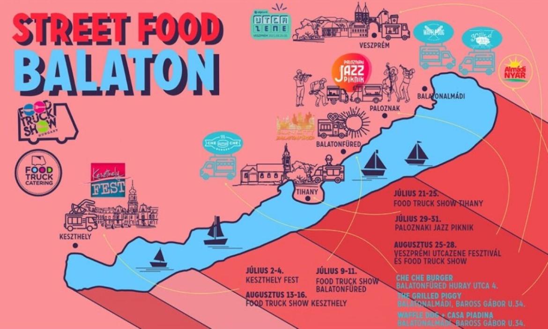 Street food őrület a Balatonon: 50 kocsi költözött le a strandokra