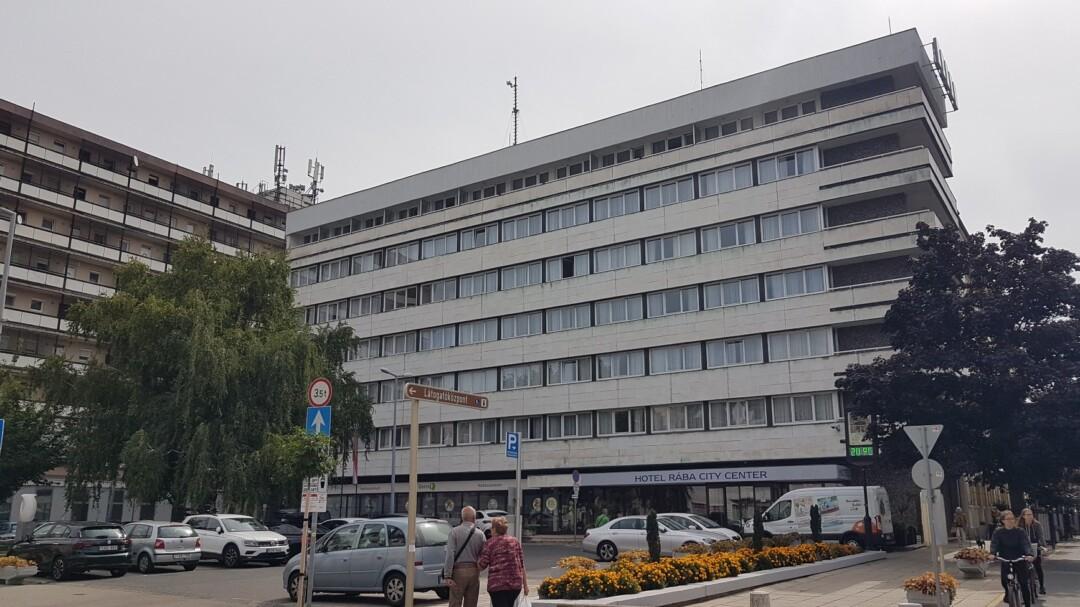 A Győri Rába Hotelben jártunk